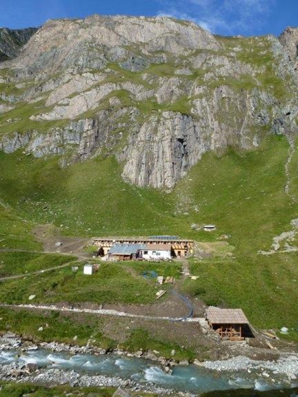 Sanierung Clara Hütte